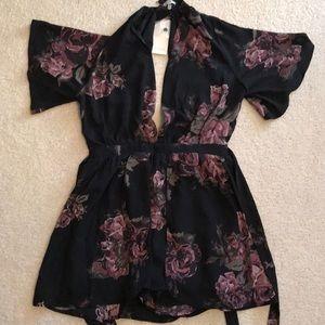 A formal jumpsuit